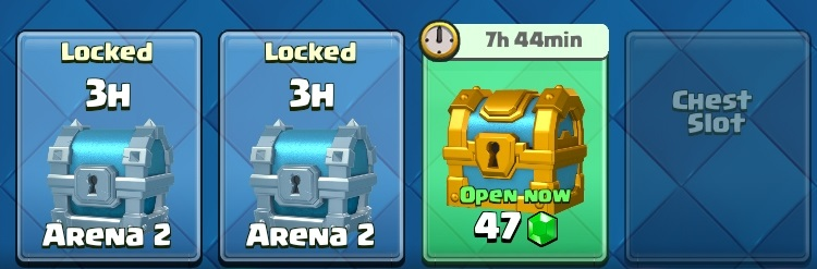 clash royale chest slots